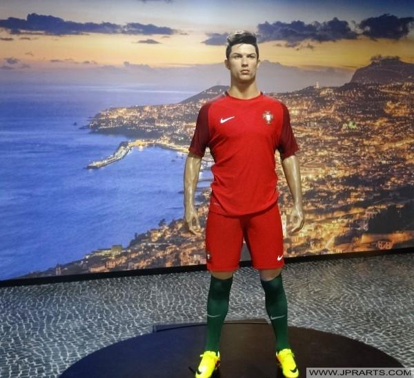 Cristiano Ronaldo et Funchal (musée CR7sur l'île de Madère)
