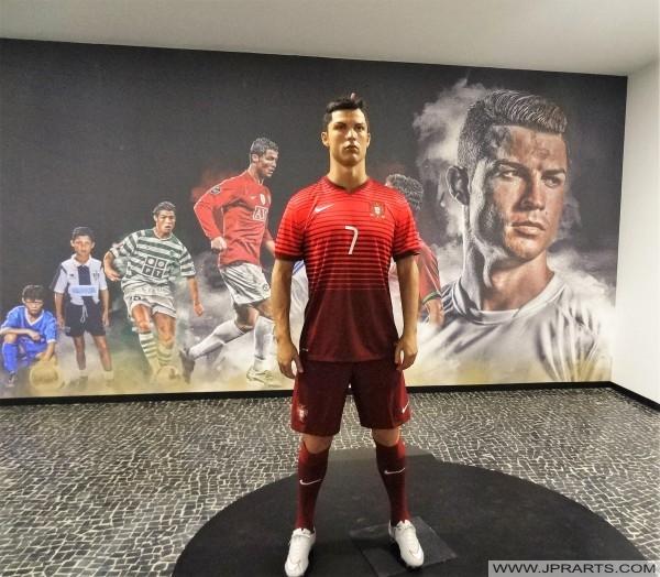 Cristiano Ronaldo Musée CR7 à Funchal, Madeira, Portugal