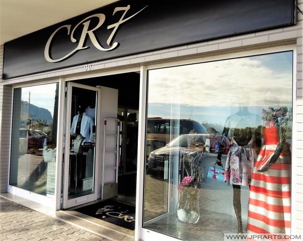 Tienda CR7 en Funchal (Madeira, Portugal)