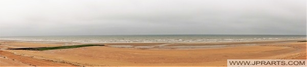 Strand in Calvados (Cabourg, Frankrijk)
