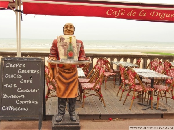 Cafe MP de la Digue - Promenade Marcel Proust in Cabourg, Frankrijk