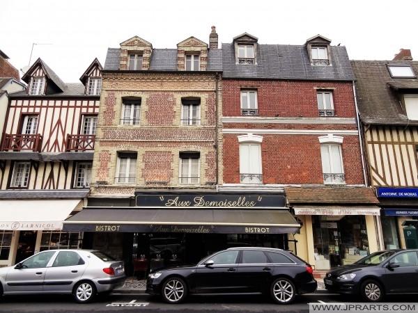 Geschäfte in Deauville, Frankreich