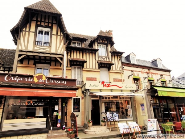 Creperie des Oursons i Cabourg, Frankrig
