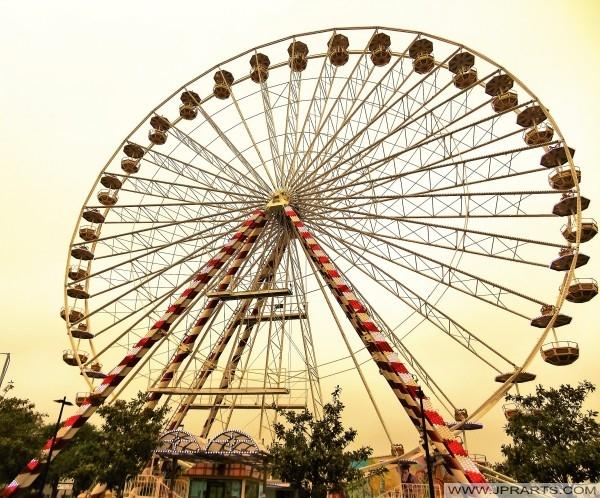 Pariserhjulet i Cabourg, Frankrike
