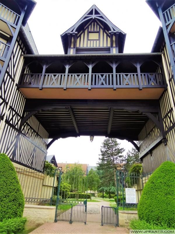 Jardín Público en Deauville, Francia