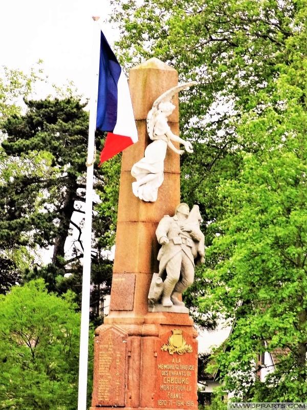 Oorlogsmonument van Cabourg, Frankrijk