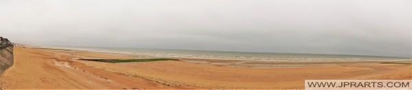 Strand Cabourg, Frankreich