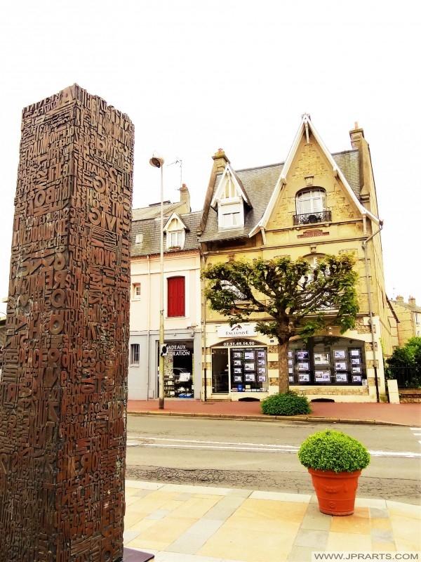 Udsigt fra Deauville, Frankrig