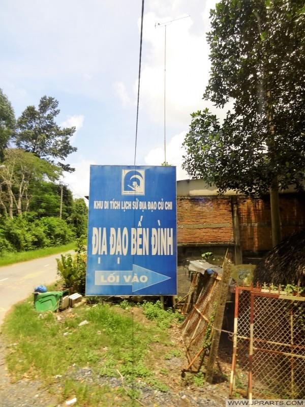 Địa đạo Củ Chi tại Bến Din, Việt Nam