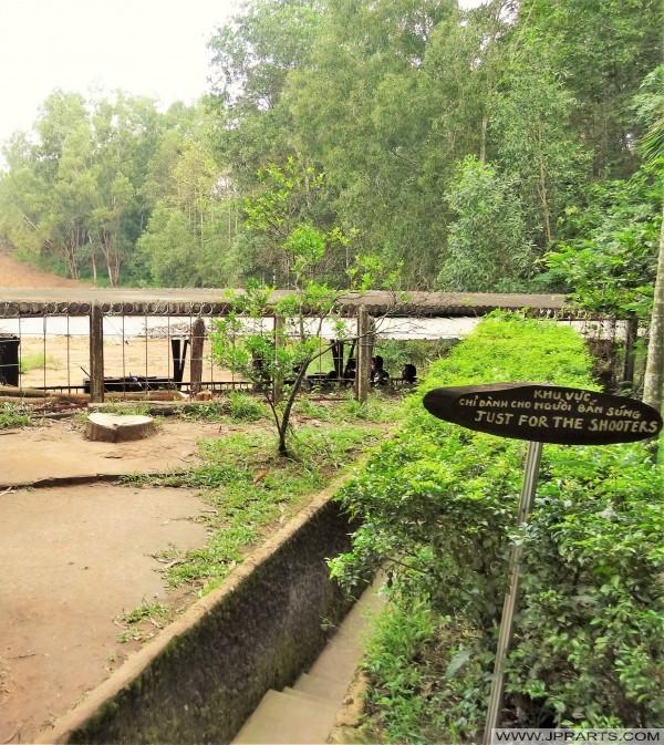 тир с АК47 или М16 (Кучи тоннель, Бен Динь, Вьетнам)