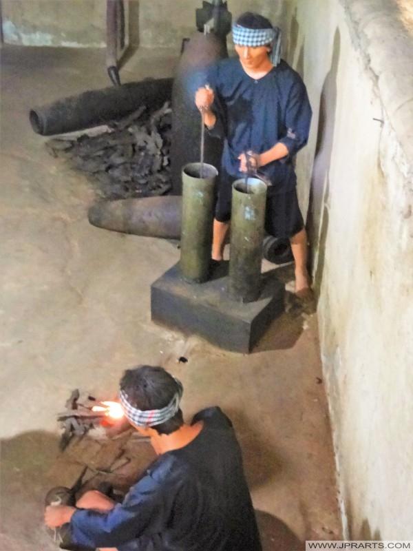 越共冒充古芝地道(本網亭,越南)彈藥