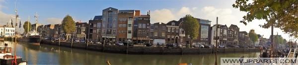 Innenhafen von Maassluis in den Niederlanden