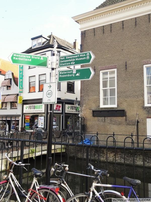 Fietsroute Midden Delfland (Maassluis, Nederland)