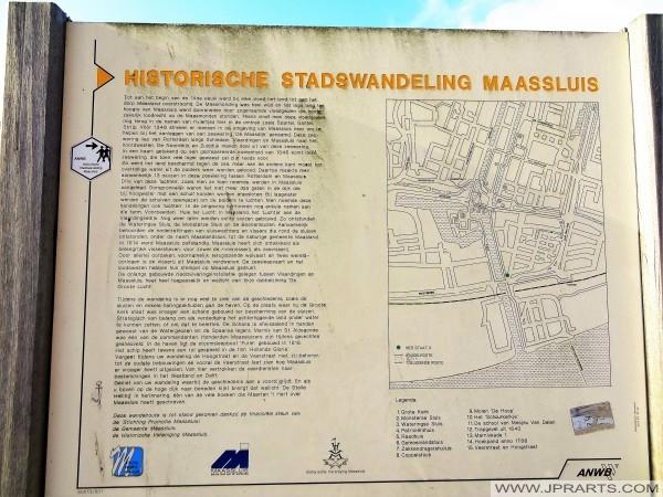 Paseo histórico en Maassluis, Países Bajos