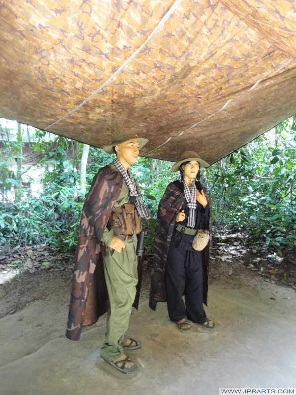 Máy bay chiến đấu của Việt Cộng (Củ Chi hầm, Bến Đình, Việt Nam)