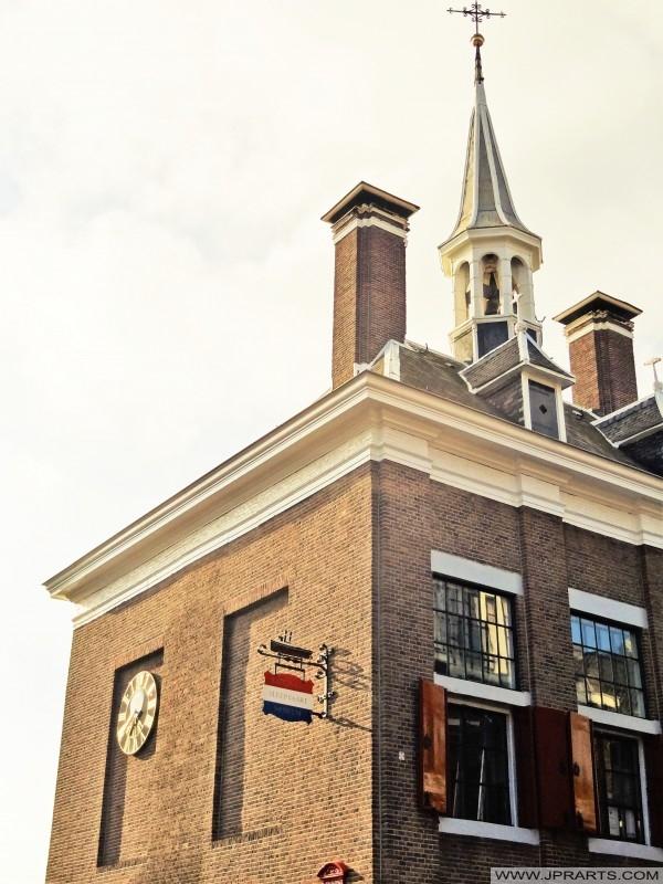 Nationales Schleppmuseum im ehemaligen Rathaus von Maassluis in den Niederlanden