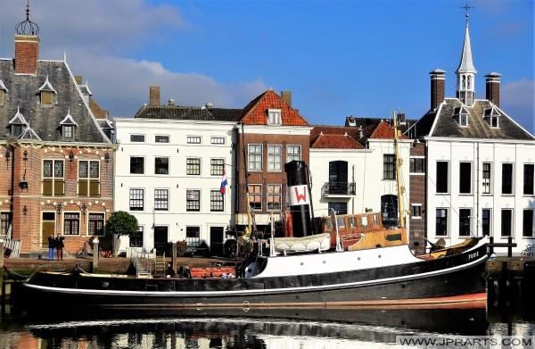 Remorqueur à vapeur Furie à Maassluis, Pays-Bas