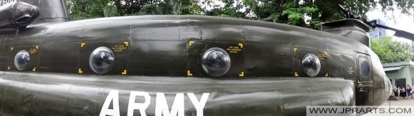 Boeing CH-47 Chinook (Museo de Remanentes de Guerra en Ho Chi Minh, Vietnam)