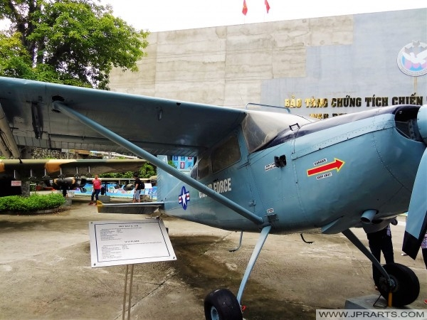Cessna U.17 Flugzeug (Krieg Remnants Museum in Ho-Chi-Minh-Stadt, Vietnam)