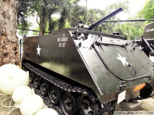 M.132 A1 Flammenwerfer (War Remnants Museum in Ho-Chi-Minh-Stadt, Vietnam)