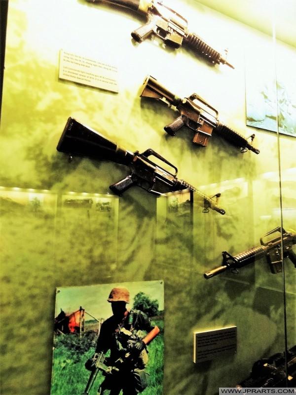 Mesingan American digunakan semasa Perang Vietnam