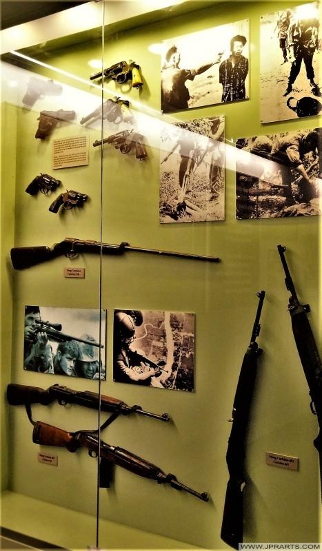 Senapang dan pistol tentera Amerika semasa Perang Vietnam