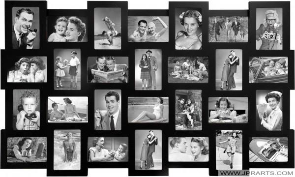 Cheap Photo Frame Collage