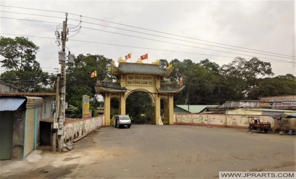 Dai Tong Lam Tu Pagoda in Vung Tau, Vietnam
