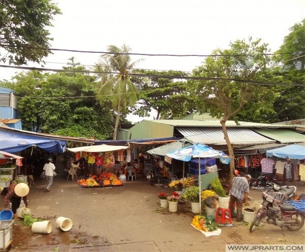 Thị trường địa phương tại Vũng Tàu, Việt Nam