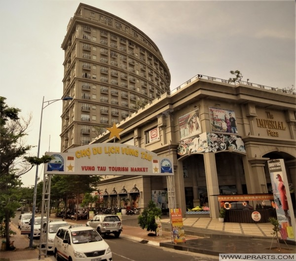 Imperial Plaza and Tourism Market in Vung Tau, Vietnam