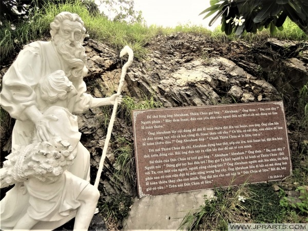 פסל של אברהם ב וונג טאו, וייטנאם