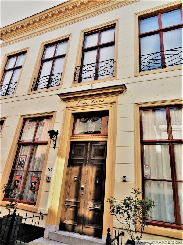 Adellijke Stadhuis 'Eena Tiara' in Leeuwarden, Nederland