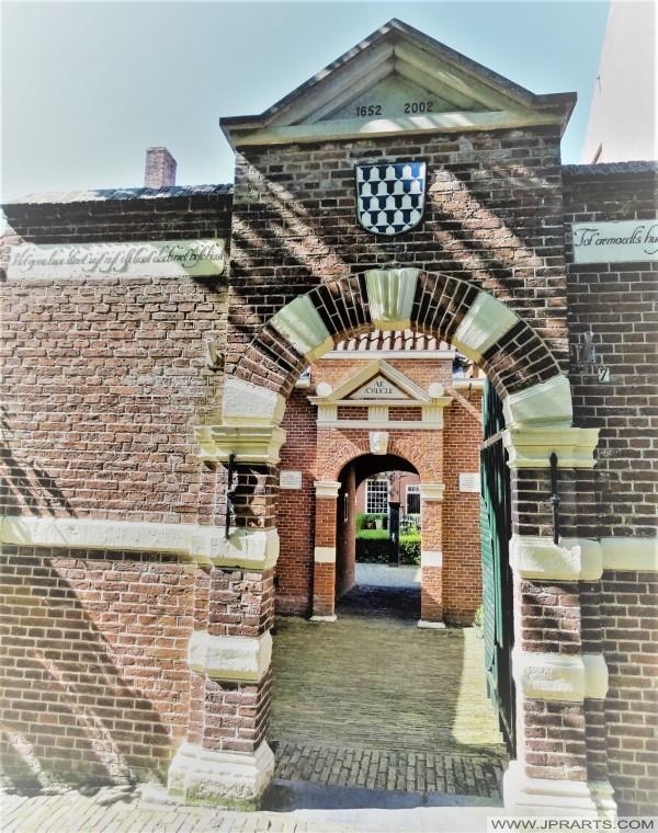 Boshuisen Gasthuis in Leeuwarden, Nederland