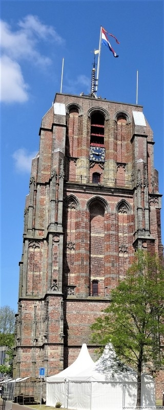 De Oldehove - Unfinished Church Tower (1529) in Leeuwarden, The Netherlands