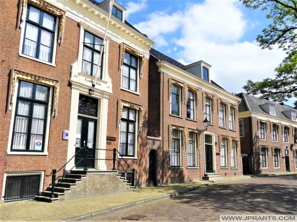 Coulonhûs van de Fryske Akademy in Leeuwarden, Nederland