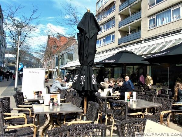 Lunchroom De Katterug in Tilburg, Nederland