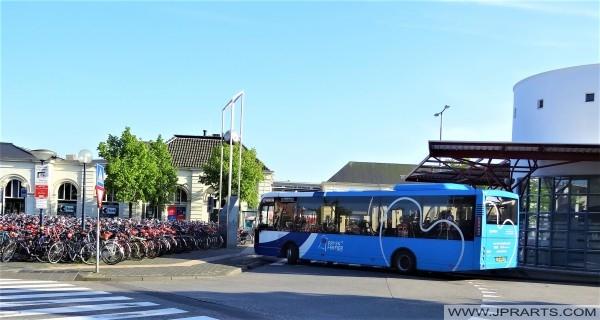 Openbaar Vervoer in Friesland (Station in Leeuwarden)