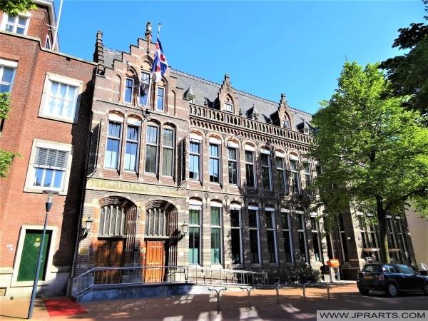 Oude Postkantoor in Leeuwarden, Nederland
