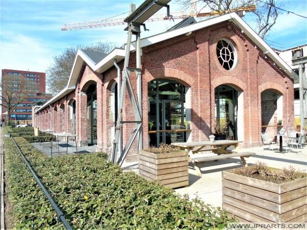 Restaurant De Houtloods in Tilburg, Nederland