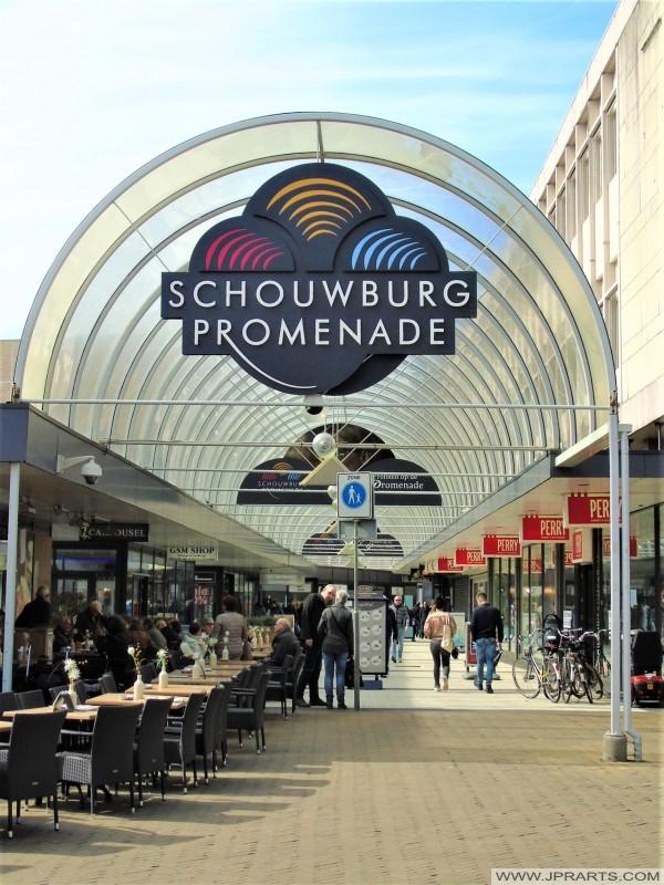 Schouwburg Promenade in Tilburg, Nederland