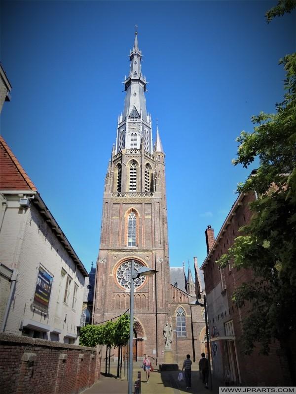 Sint-Bonifatiuskerk (gebouwd tussen 1882 en 1884) in Leeuwarden, Nederland