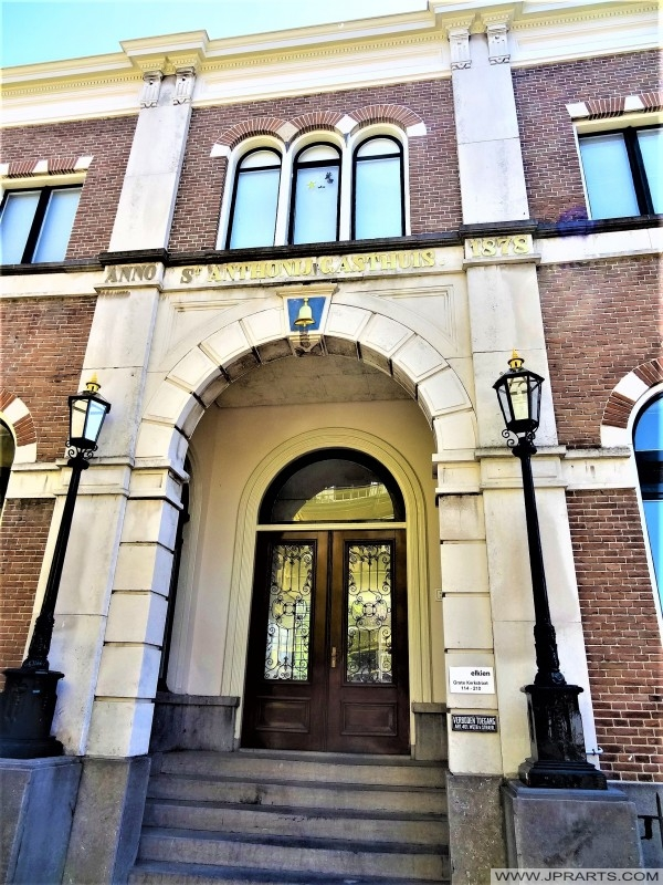 St. Anthony Gasthuis in Leeuwarden, Nederland
