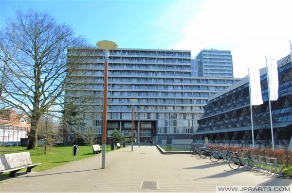 Campus of the Tilburg University in The Netherlands