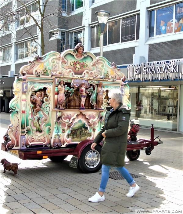 Draaiorgel in Tilburg, Nederland