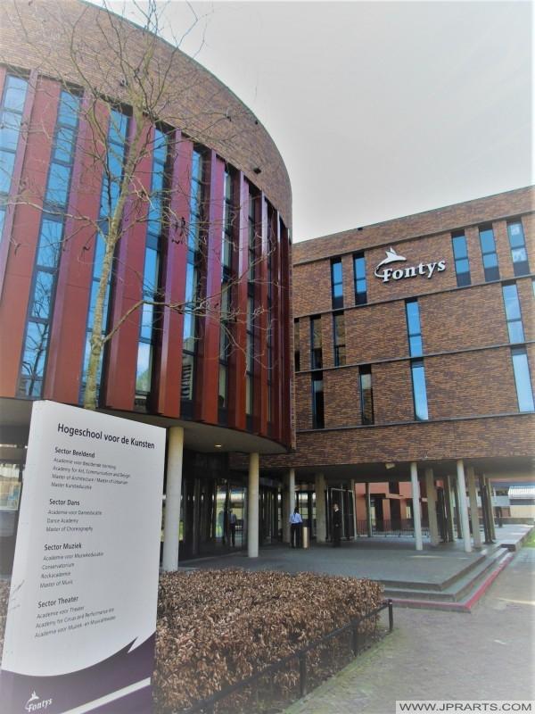 Fontys Hogeschool voor de Kunsten in Tilburg, Nederland