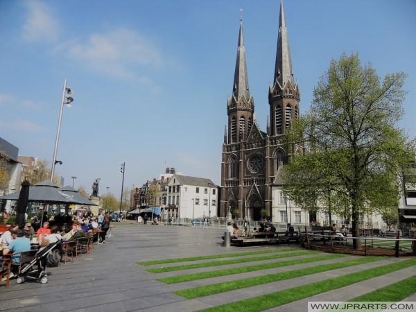 Heuvel in Tilburg, Nederland