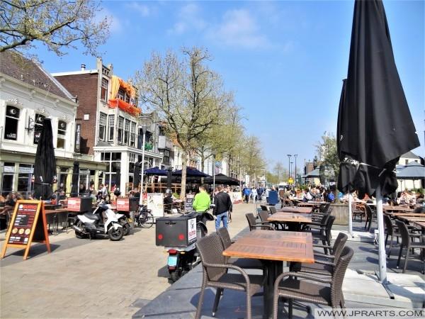 Horeca op de Heuvel in Tilburg, Nederland