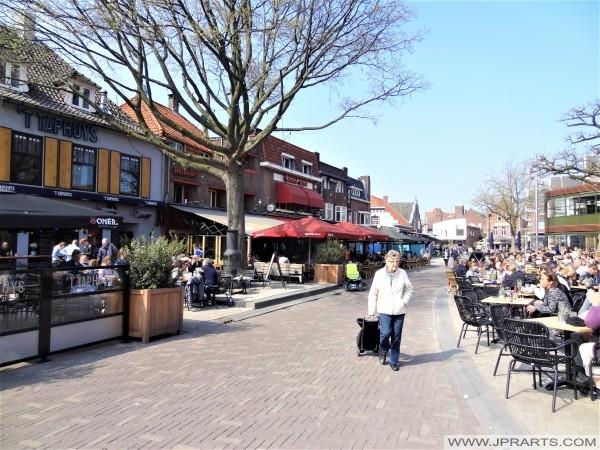 Piusplein in Tilburg, Nederland