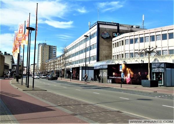 Streetview Tilburg, The Netherlands