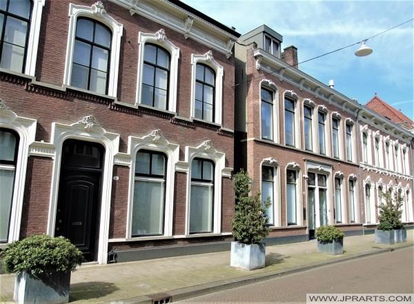 Willem II Straat in Tilburg, Nederland